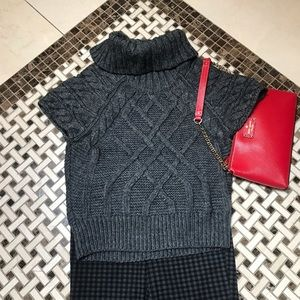 RED TAG⬇️🔥$29🔥LOFT GRAY CHUNKY SWEATER